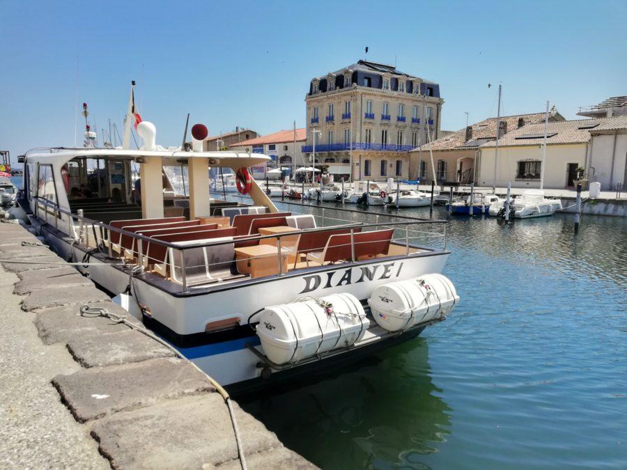 Belle balade en bateau avec l'étoile de Thau IV à Marseillan