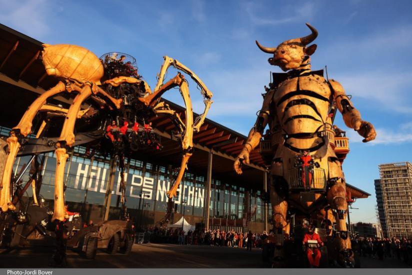 Visiter la Halle de la machine à Toulouse