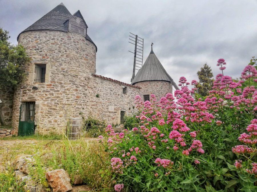 Où trouver de beaux moulins dans le sud ?